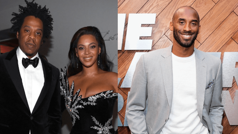 Here S A History Of Beyonce Jay Z And Kobe Bryant S Friendship Blavity News