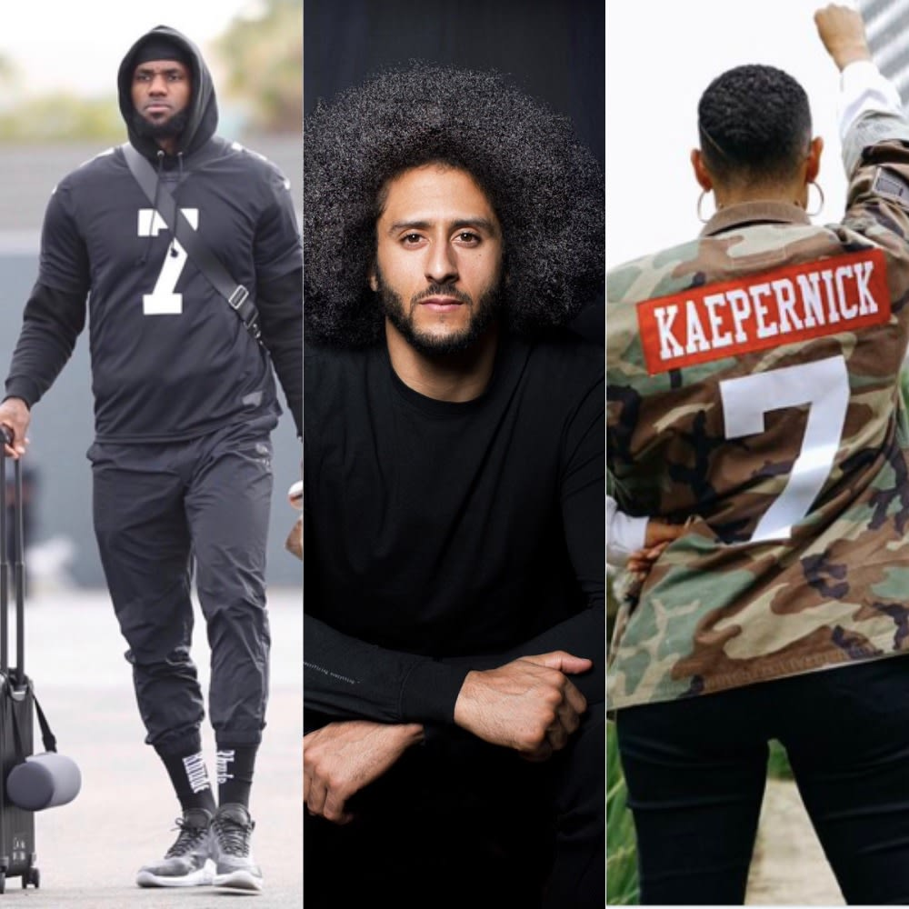Countless Celebs Protested Super Bowl LIII In Support Of Colin Kaepernick