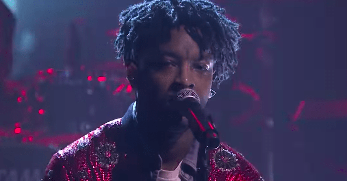 21 Savage Performed A Song Featuring Anti-ICE Lyrics Days Before His Arrest