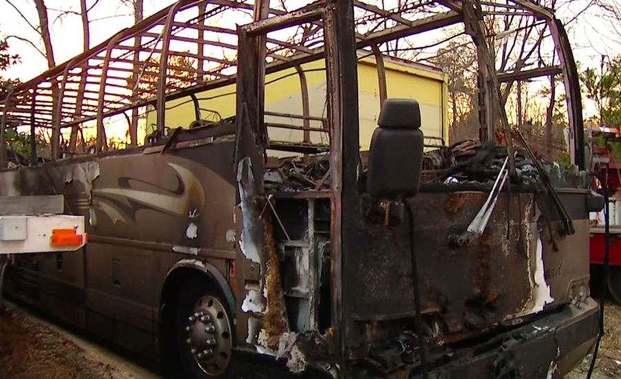 Hampton University Track Team Miraculously Survives Devastating Bus Fire