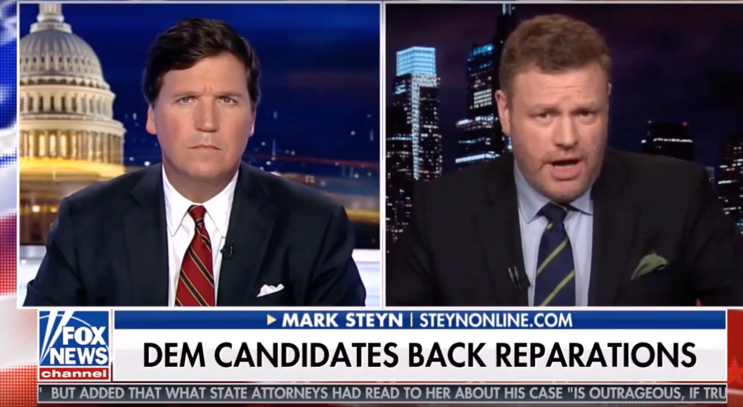 A Fox News Guest Somehow Fixed His Lips To Say Black People 'Need To Move On' From Slavery