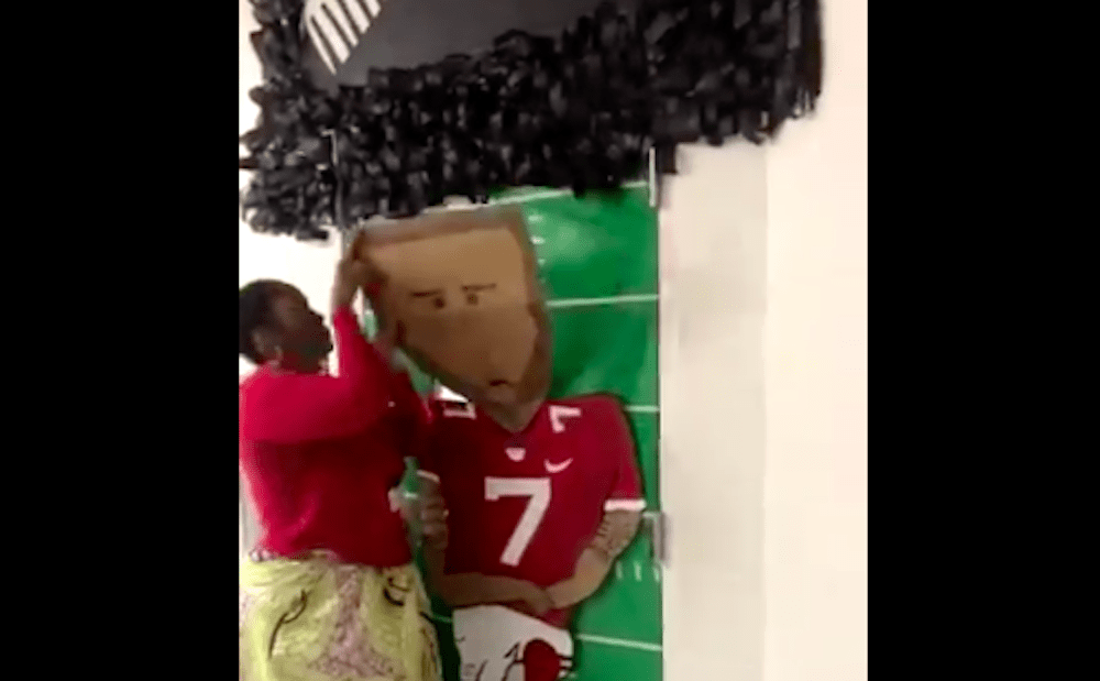 Florida Teacher Whose Colin Kaepernick Door Decoration Went Viral Forced To Take It Down