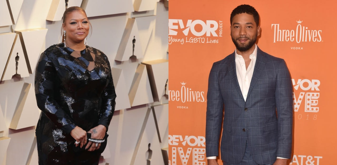 Queen Latifah Says She's Still Standing By Jussie Smollett Until She Sees 'Definitive Proof' Of A Hoax