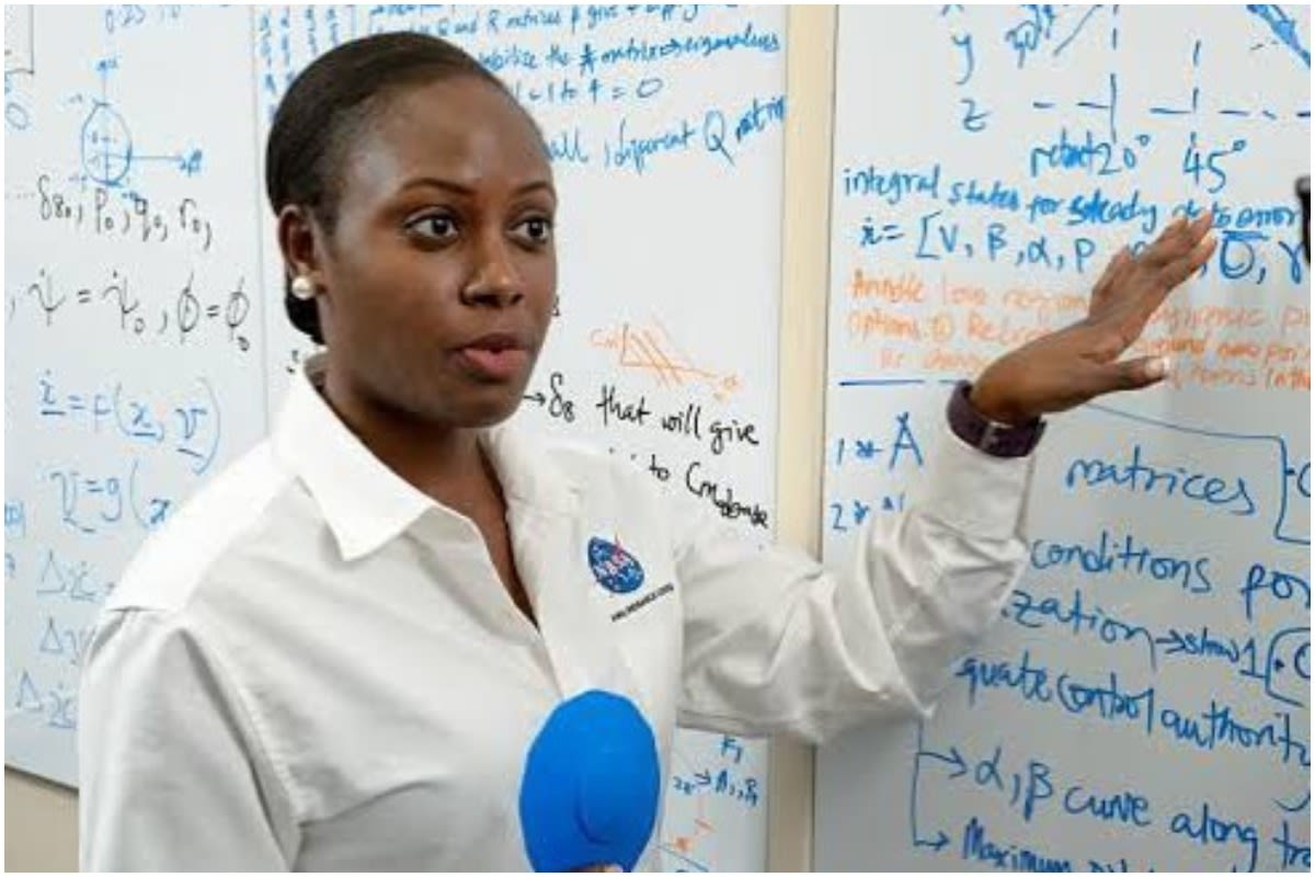 Wendy Okolo Is The First Black Woman To Earn A Doctorate In Aerospace Engineering