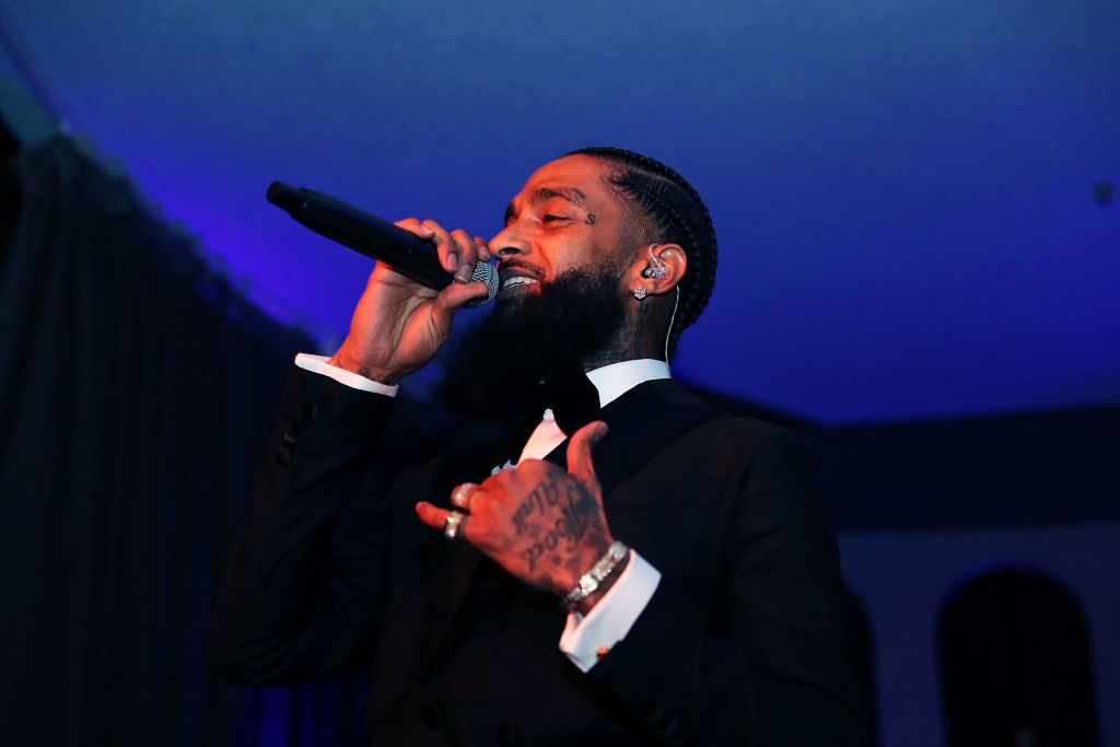 Suspect In Nipsey Hussle's Killing Reportedly In Police Custody
