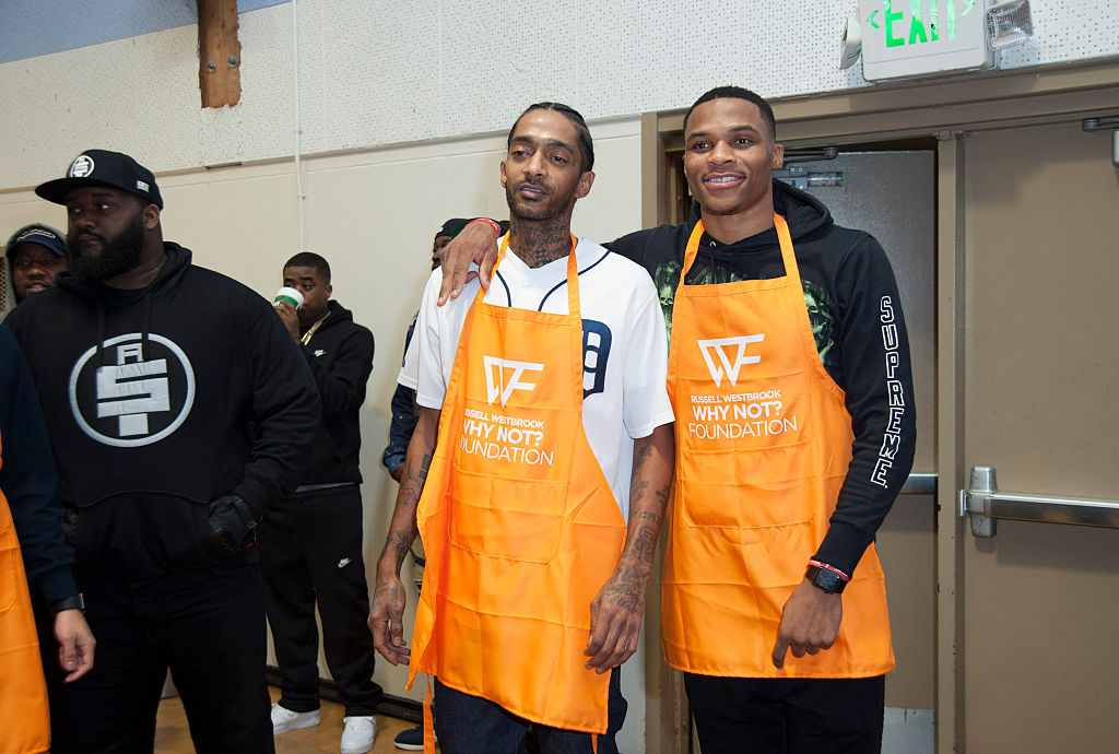 'That Wasn't For Me': Russell Westbrook Dedicated His Historic Court Victory To Nipsey Hussle