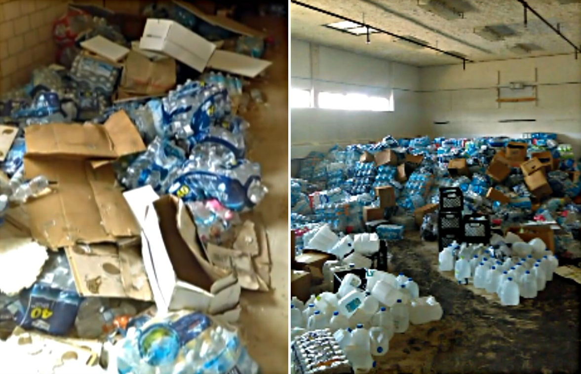 Flint Man 'Dumbfounded' After Discovering Hundreds Of Bottles Of Water In Abandoned Building