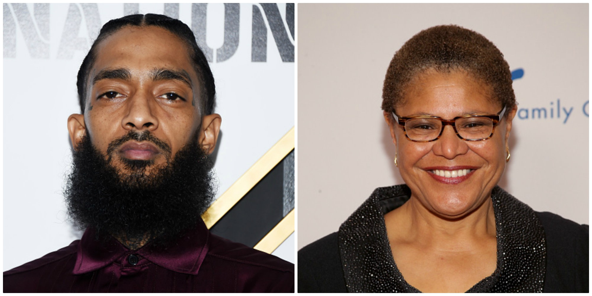 Rep. Karen Bass Is Working To Ensure Nipsey Hussle's Los Angeles Legacy Is Never Forgotten By Congress