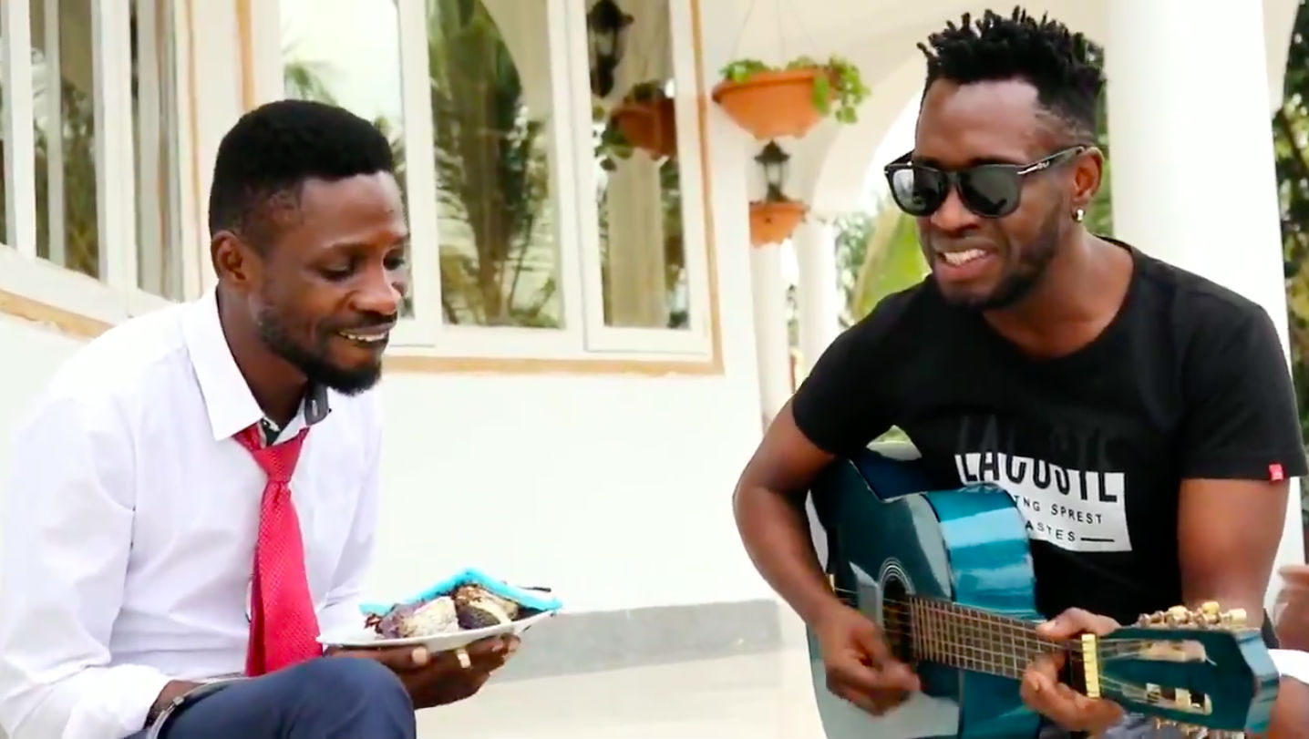 Ugandan Opposition Leader Bobi Wine Continues Making Music While Being Detained In His Home