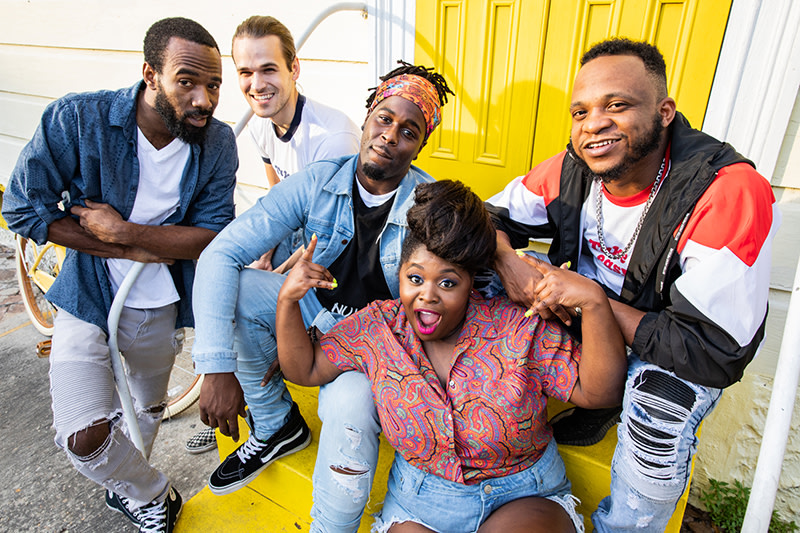 Tank And The Bangas Is The Eclectic Music Group Bringing Soul, Funk and Fire To Your Playlist