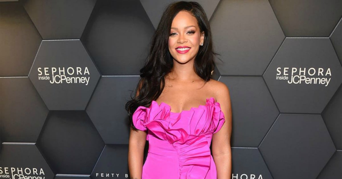 Rihanna Makes History As The First Woman To Launch An Original Brand For World's Largest Luxury Group LVMH