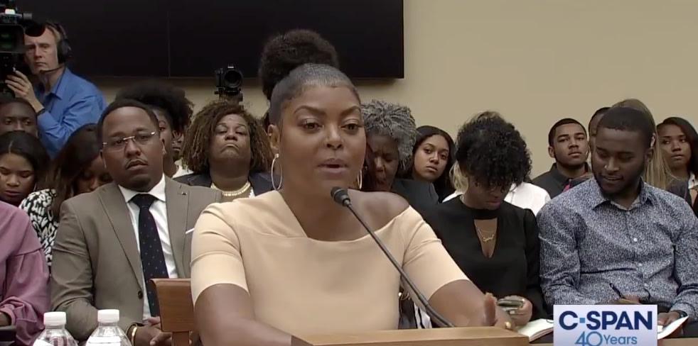 Taraji P. Henson Spoke To Congress On Black Mental Health: 'We Don't Even Talk About It'