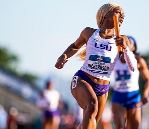 This Louisiana State University Freshman Has Broken A Collegiate Track Record