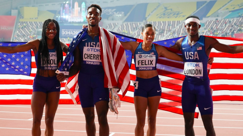 Allyson Felix Breaks Record Previously Held By Usain Bolt For Having The Most Gold Medals In World Championships History