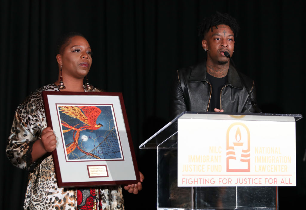21 savage advocates for immigrant children and pushes for automatic citizenship blavity news blavity