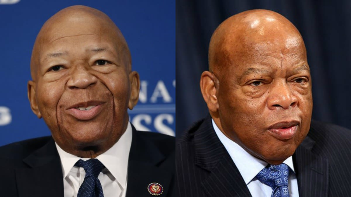 People Are Posting Pictures Of The Very Much Alive John Lewis To Pay Tribute To The Late Elijah Cummings