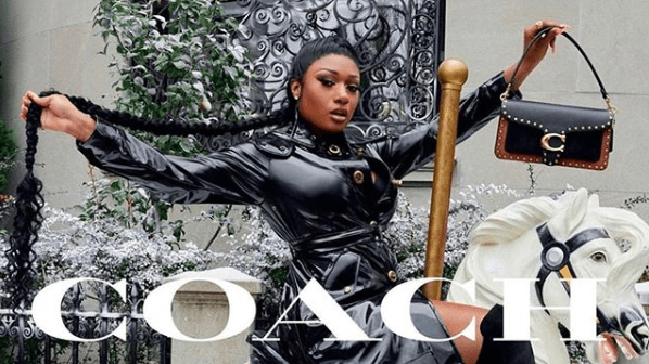Megan Thee Stallion Is On Her 'Cash S**t' As Face For New Coach Holiday Campaign