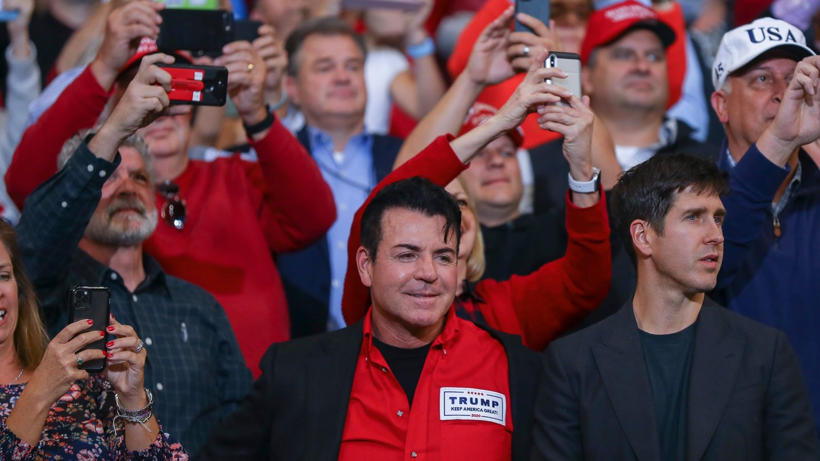 Papa John's Founder Spotted Looking Lovestruck At Trump Rally In Kentucky