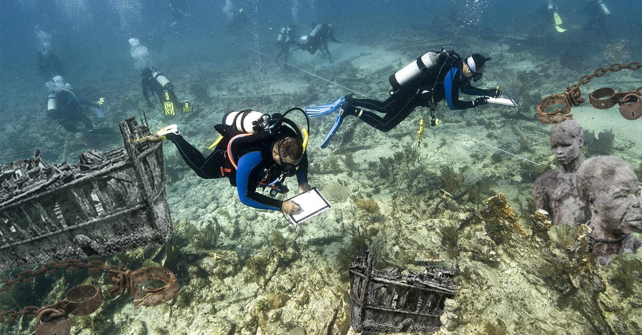 This Black Diving Organization Is Committed To Amplifying The Stories Of Our Ancestors By Finding Slave Shipwrecks