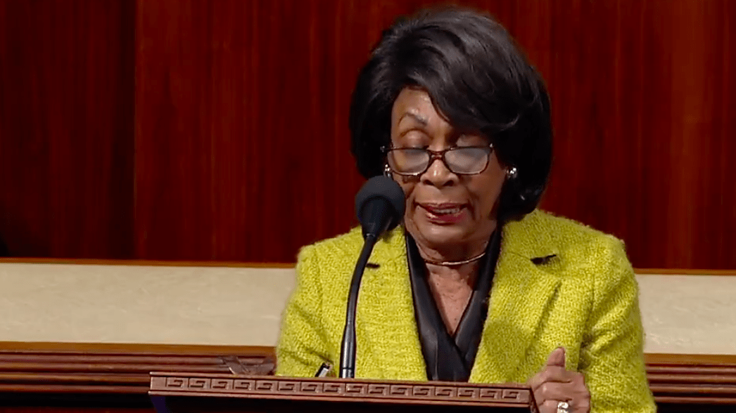 Maxine Waters Read Trump For Filth And Quoted A Black Icon In Her Long-Awaited Impeachment Speech