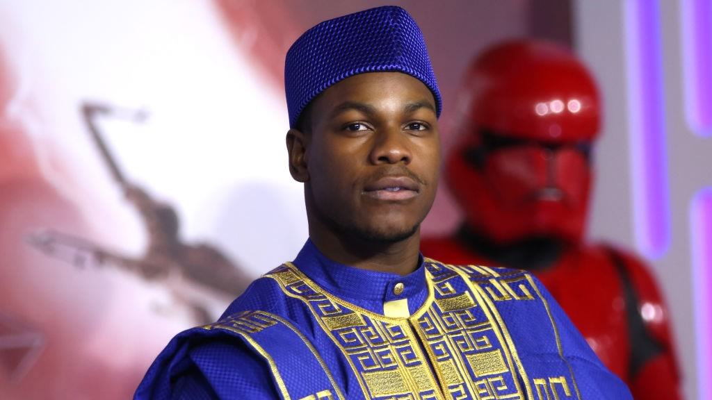 John Boyega And His Family Brought Nigerian Culture To The European 'Star Wars' Premiere And Looked As Regal As Ever