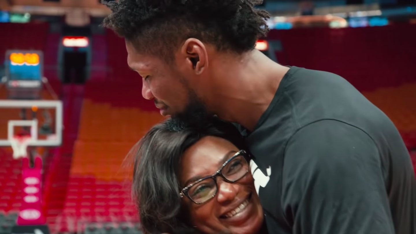 'That's My Mom!': NBA Helps Player Reunite With His Mom Who He Hasn't Seen In Three Years