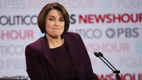 Presidential Candidate Amy Klobuchar Will Returns Funds She Received From Central Park Five Prosecutor
