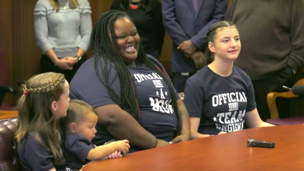 Black Teacher Who Adopted Three White Foster Children Says 'Love Has No Color In Her Home'