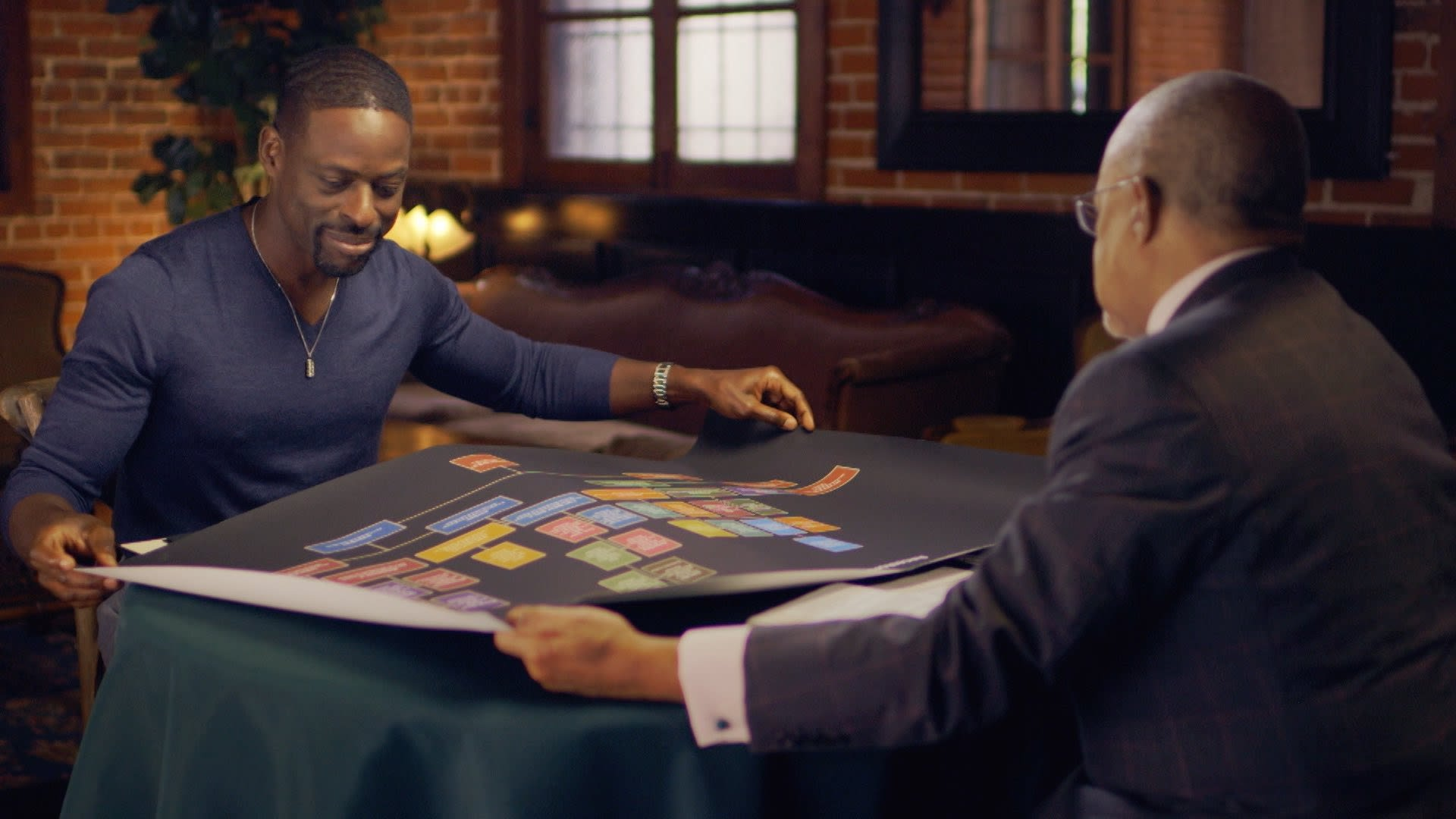 Sterling K. Brown Gets Emotional When Learning Of His Ancestry On PBS Special 'Finding Your Roots'