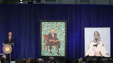 Here's Your Chance To See The Obama Portraits For Yourselves