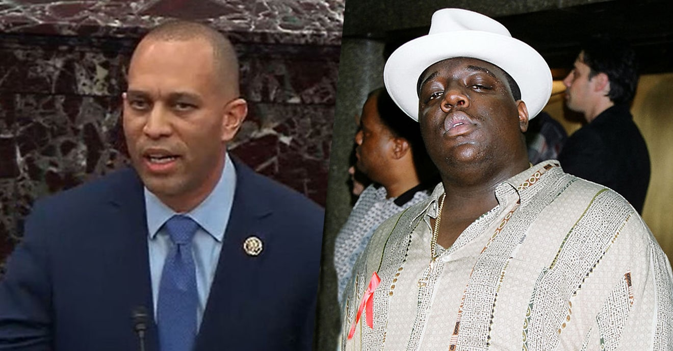 Rep. Hakeem Jeffries Dropped This Biggie Lyric In The Middle Of The Impeachment Trial