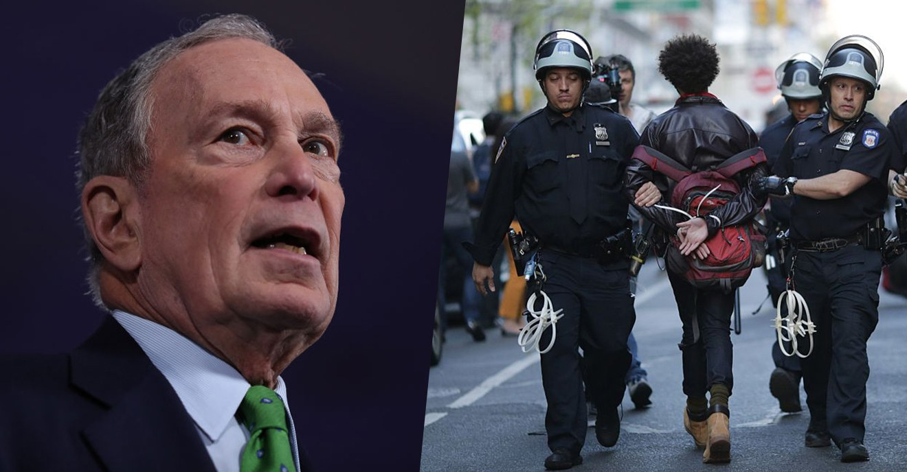 Audio Of Michael Bloomberg Defending Stop-And-Frisk Leaked: 'Throw Them Up Against The Walls And Frisk Them'
