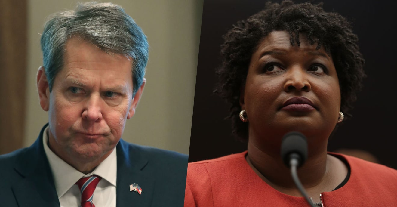 Gov. Brian Kemp Is Getting Pressure To Unveil How He Stole The Election From Stacey Abrams