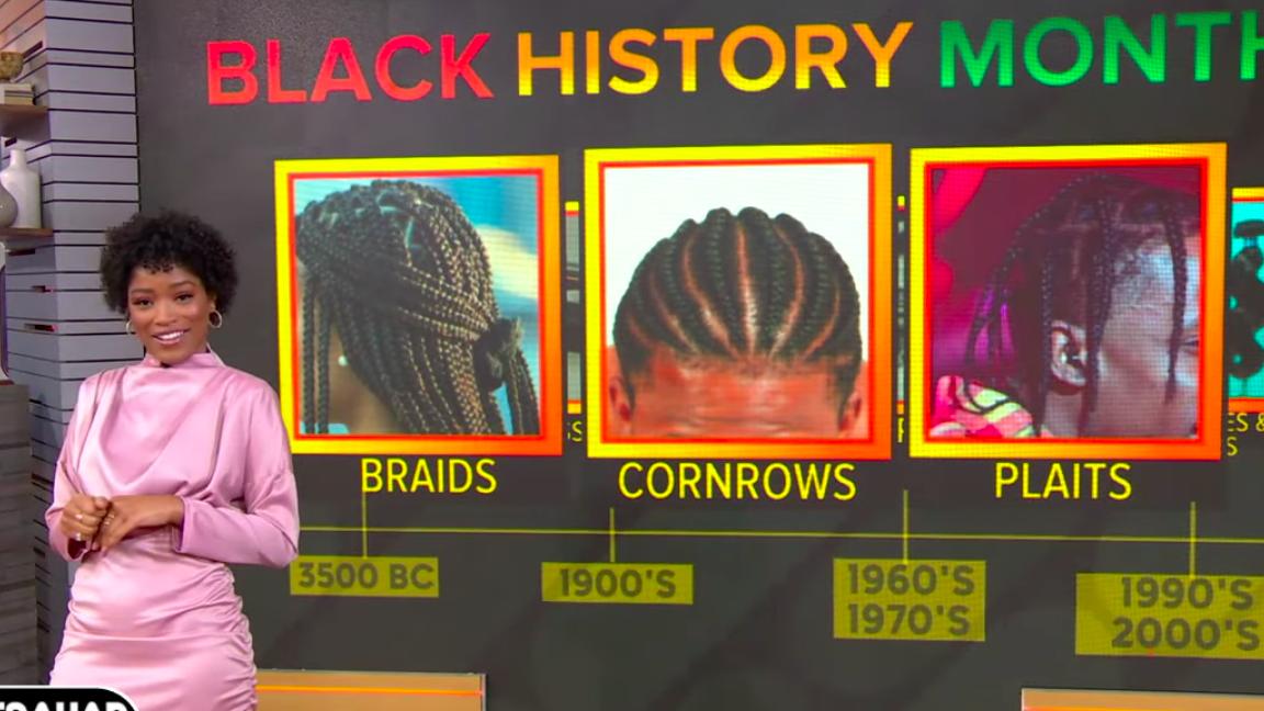 You Gon' Get This Hair Love: Keke Palmer Gives 'Strahan, Sara And Keke' Audience A Black Hair History Lesson
