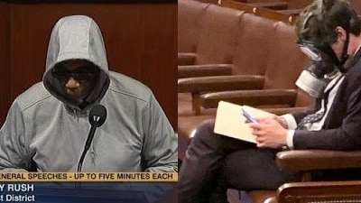 Black U.S. Rep. Kicked Off House Floor For Honoring Trayvon Martin Calls Out Hypocrisy Of Congress After White Colleague Wears Gas Mask