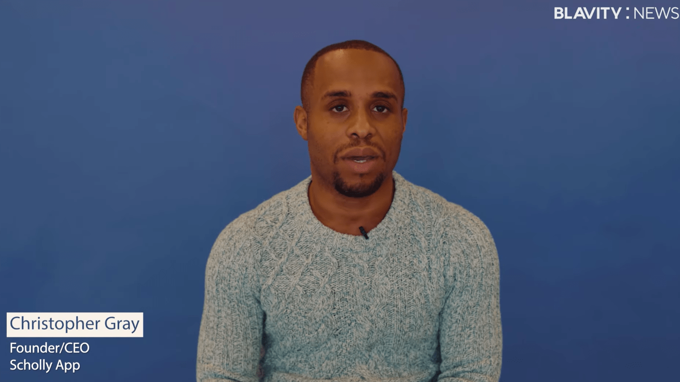 Chris Gray Knows College Is A Financial Gut Punch And Is Helping To Ease The Burden With His Scholarship App Scholly