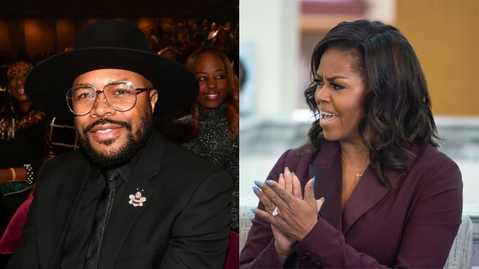Michelle Obama Presented DJ D-Nice With The 2020 Webby Artist Of The Year Award For Club Quarantine