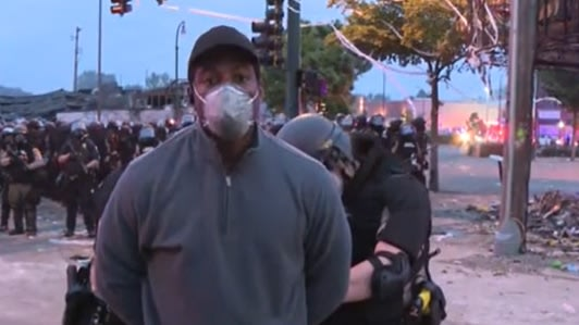 A CNN Reporter Covering The Minneapolis Protests Was Arrested On Live TV