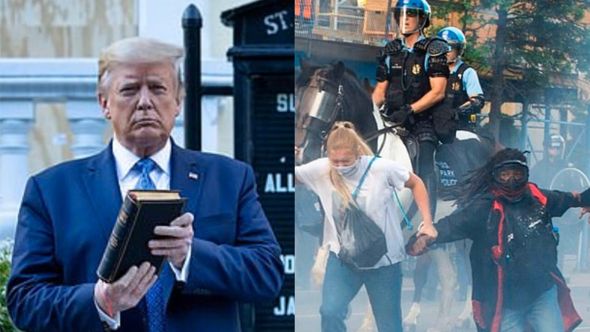 Black Lives Matter D.C. Sues Trump And Federal Government For Using Excessive Force On Protesters Ahead Of Photo-Op