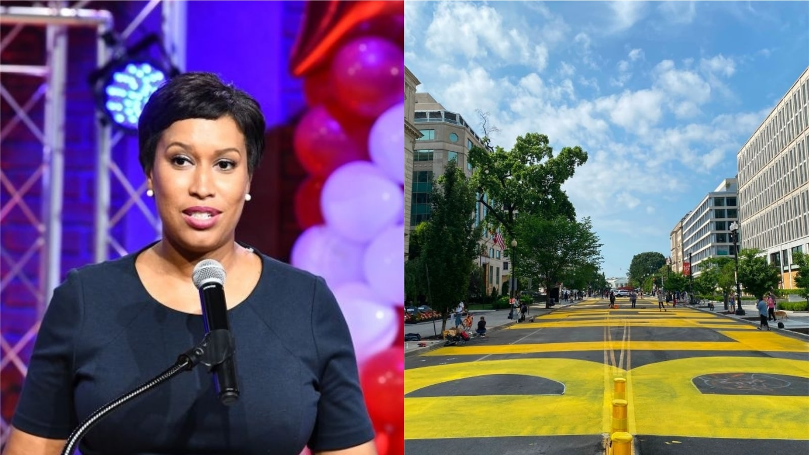 D.C. Mayor Gets 'Black Lives Matter' Painted On Street Leading Up To White House, Gets Slammed By Area's BLM Chapter