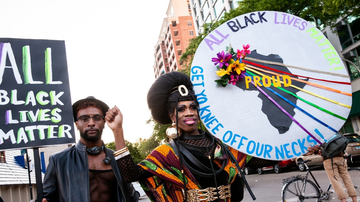 The Fight For Black Lives Involves Pulling Up For Queer Black People, Too