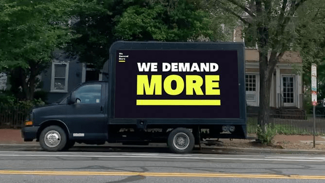 New Mobile Billboards Target Republican Senate Leaders To Demand Stronger COVID-19 Relief For Women