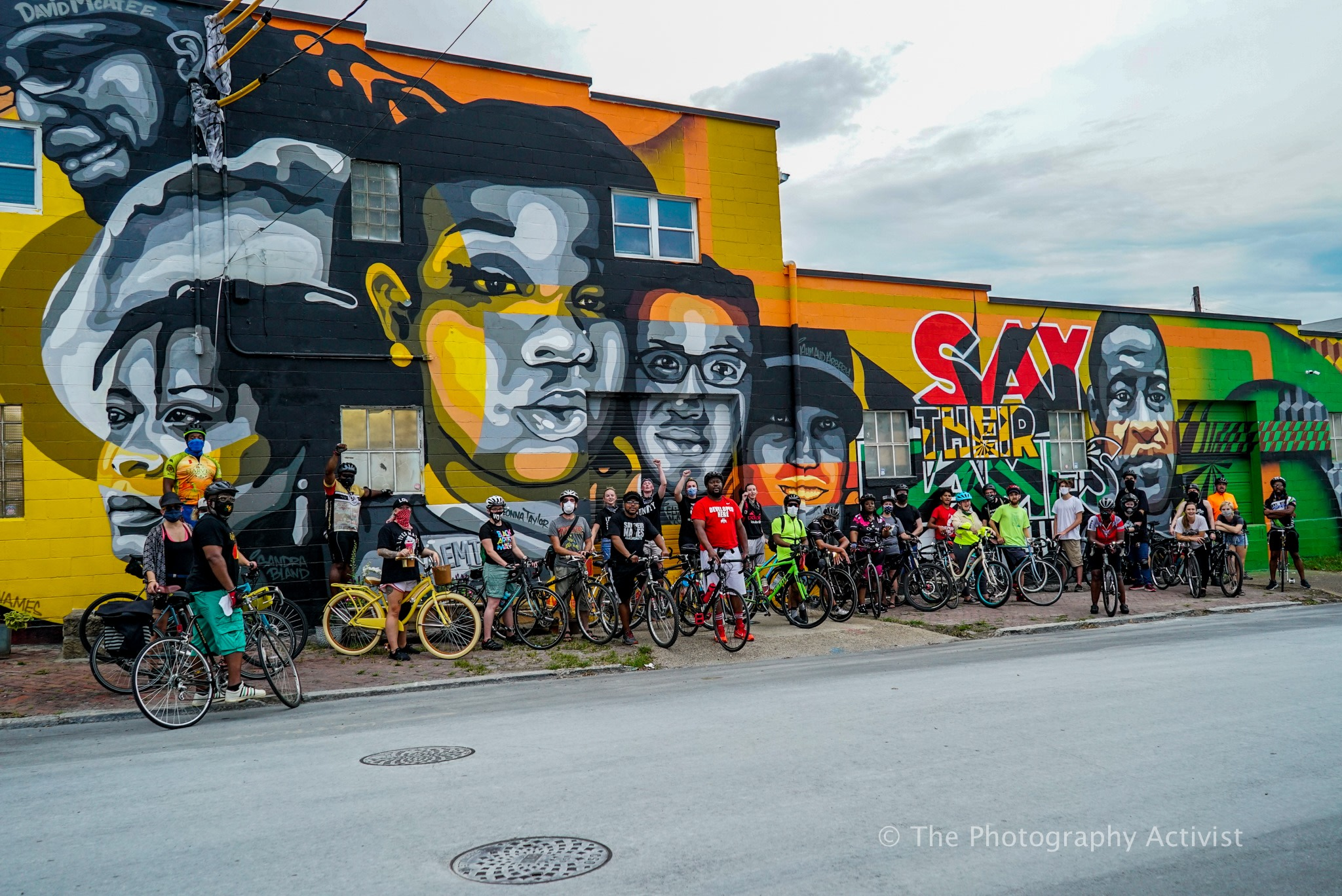 Louisville Bicyclists Took To The Streets For Breonna Taylor With 'Say Her Name' Bike Ride