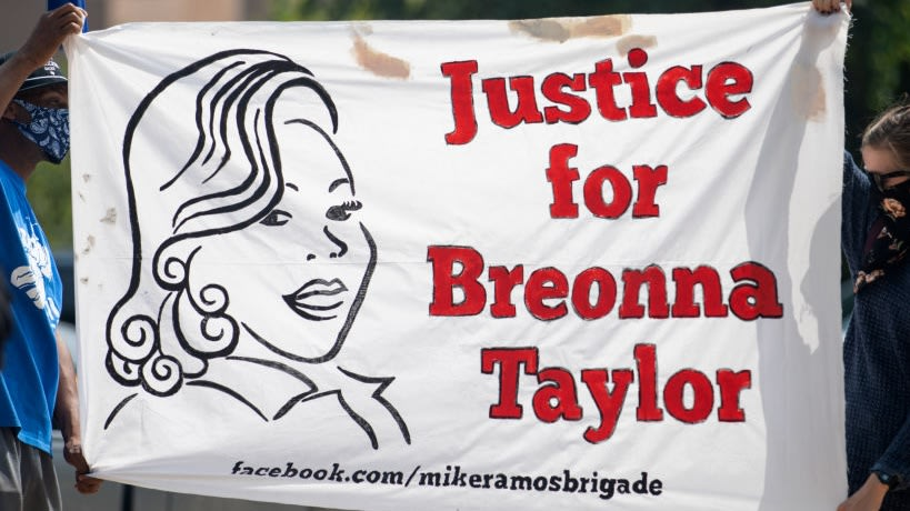 Ex-Cop Indicted For Shooting Into Home Of Breonna Taylor's White Neighbors But Not That Of Black Family's