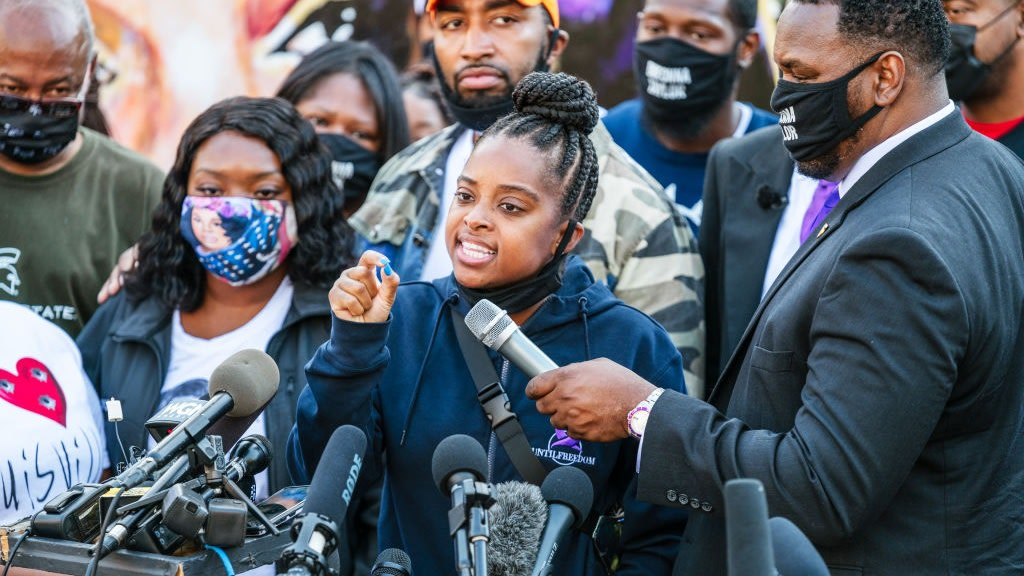 Activist Tamika Mallory Slams Daniel Cameron: He's 'No Different Than The Sellout Negroes That Sold Our People Into Slavery'