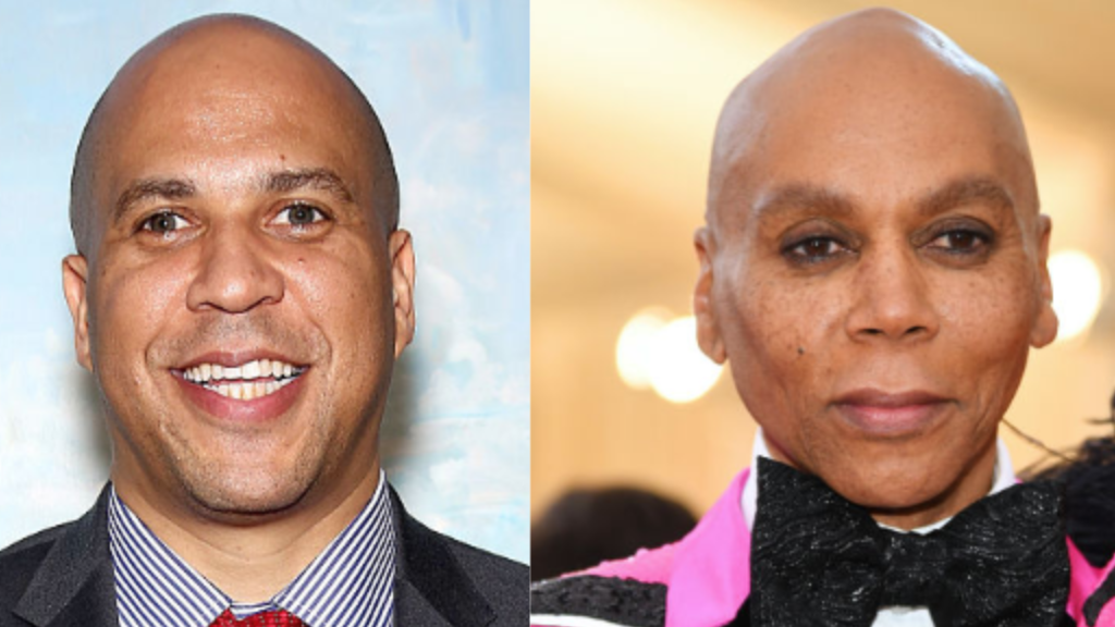 Cory Booker Is 'Very Happy' After Discovering He And RuPaul Are Related