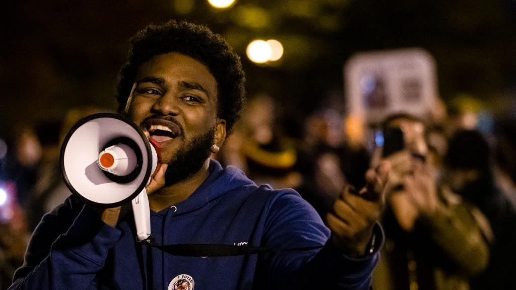 Activists Brought Go-Go Music And Black Joy To D.C. Streets Amid Election Day Chaos