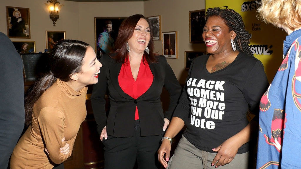 Congresswoman-Elect Cori Bush Needed Help Figuring Out Affordable Fits For The Hill And 'The Squad' Had Her Back