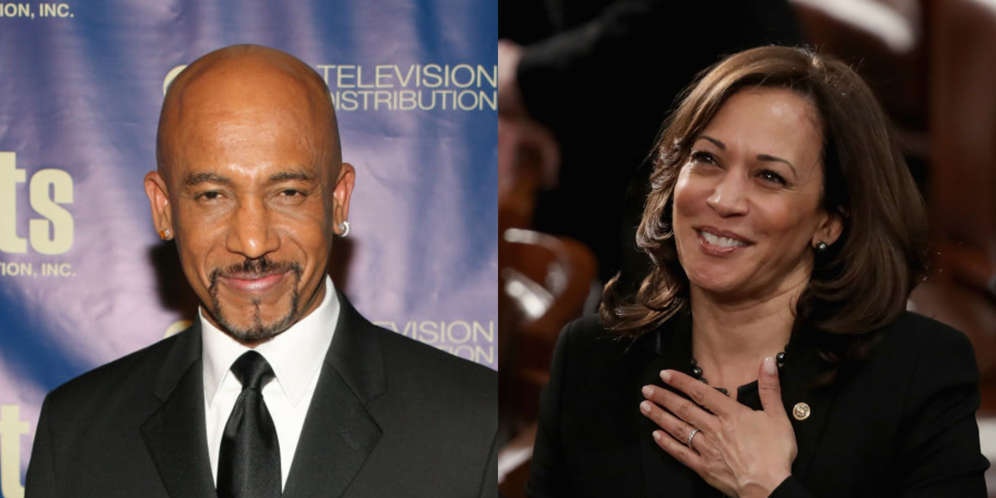 The Twitterverse Doesn't Know How To Act After Learning Montel Williams And Kamala Harris Used To Date