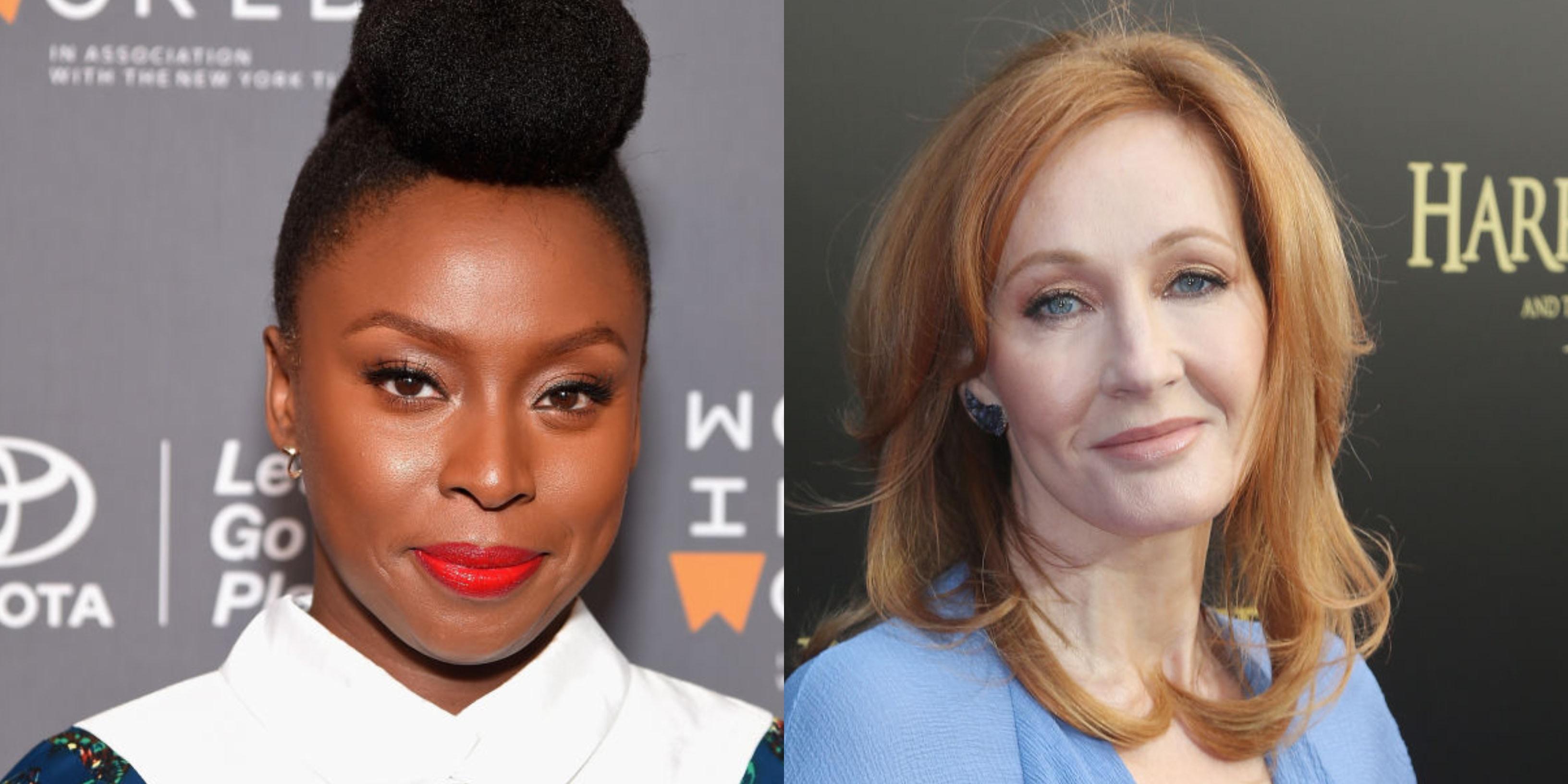 Chimamanda Ngozi Adichie Slammed For Defending JK Rowling's Anti-Trans Essay
